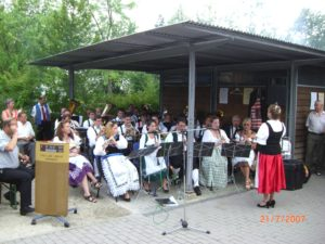 Clevelander Blaskapelle zu Besuch in Nürnberg